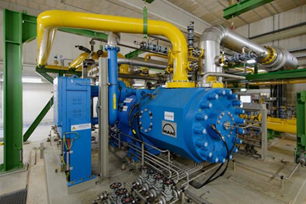 Erdgasverdichteranlagen als wesentliche Komponenten im Erdgastransportnetz